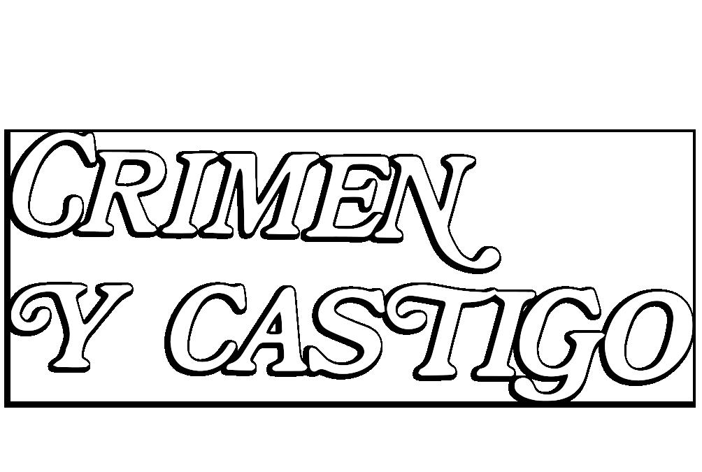 Logotipo del programa 'Crimen y castigo'