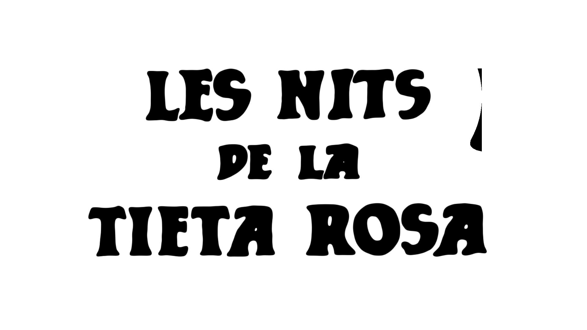 Logotipo del programa 'La tieta Rosa'