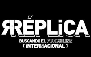 Logotipo del programa 'Réplica Internacional'