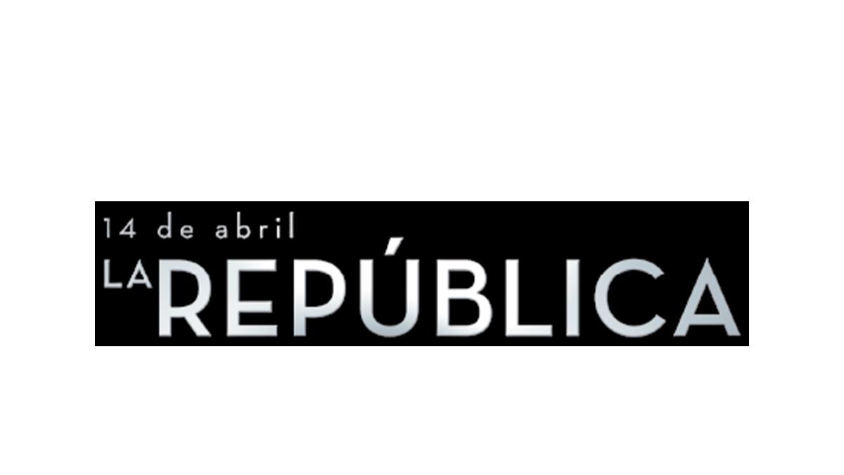 Logotipo del programa '14 de abril. La República'