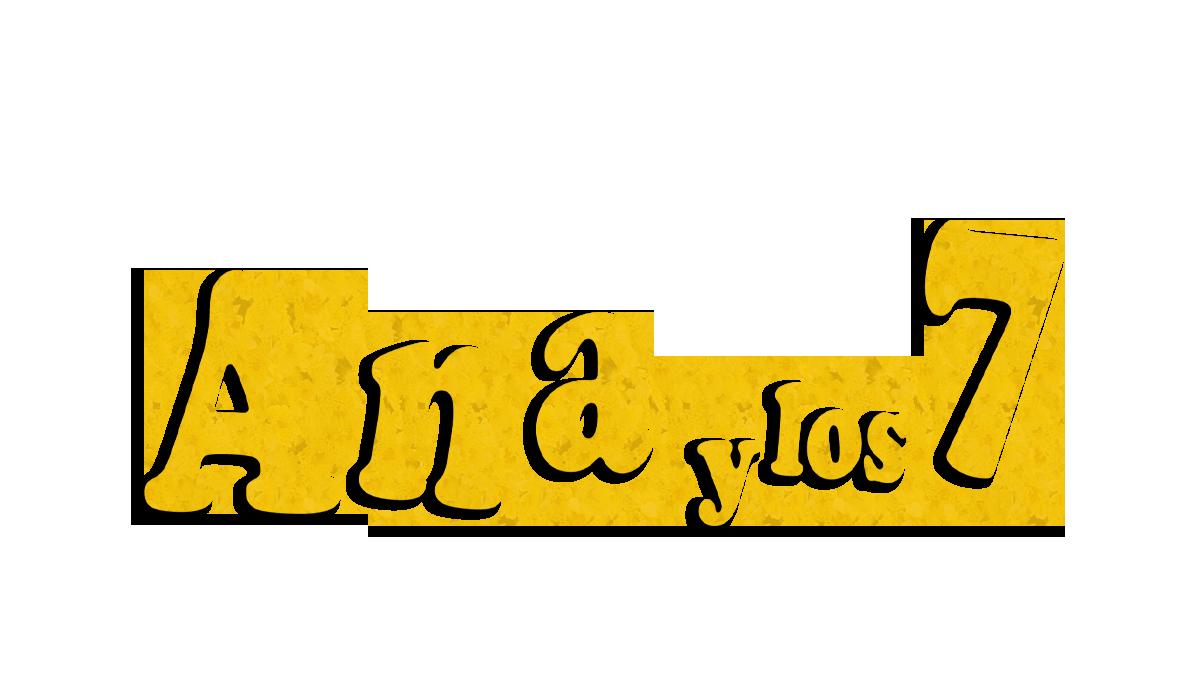 Logotipo del programa 'Ana y los siete'