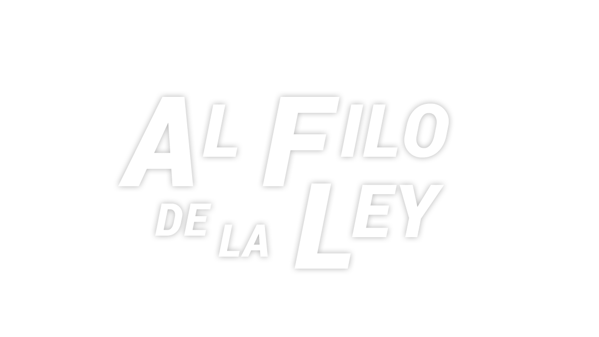 Logotipo del programa 'Al filo de la ley'
