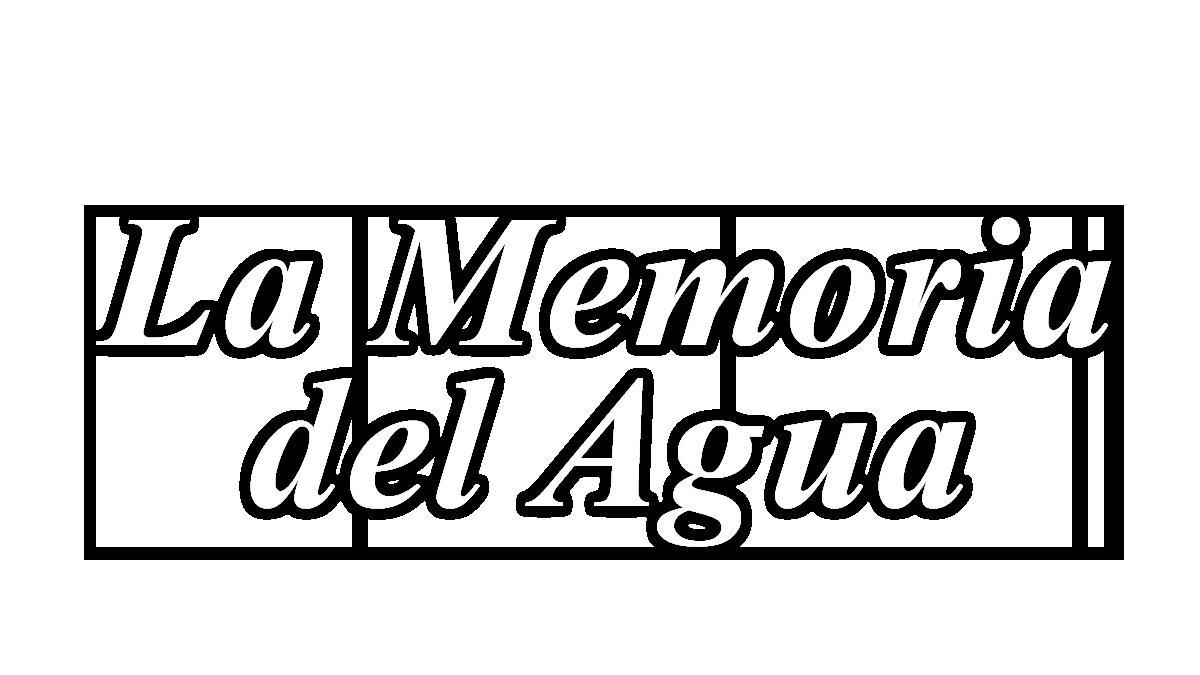 Logotipo del programa 'La memoria del agua'