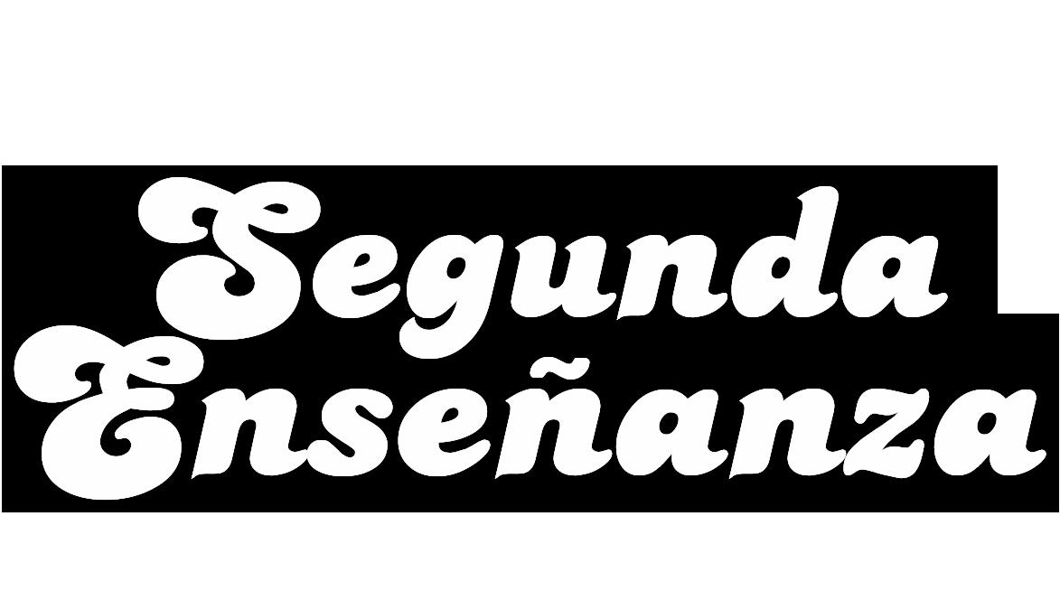Logotipo del programa 'Segunda enseñanza'