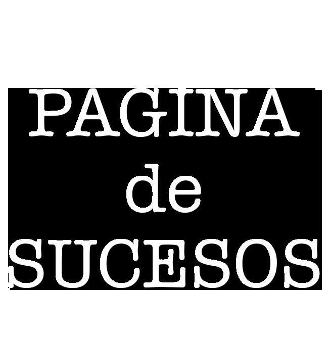Logotipo del programa 'Página de sucesos'