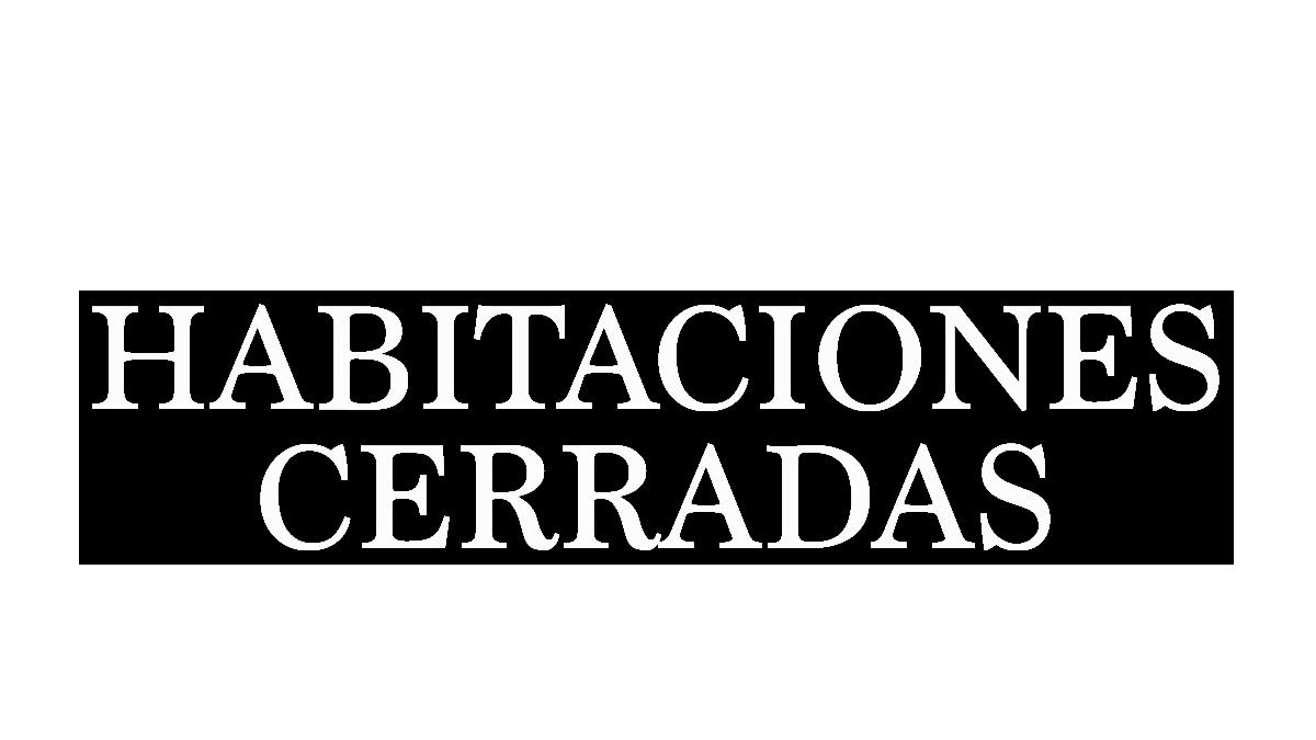 Logotipo del programa 'Habitaciones cerradas'