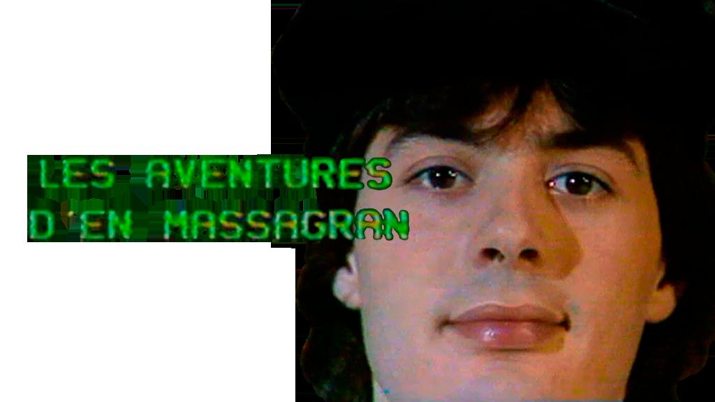 Logotipo del programa 'Les aventures d'en Massagran'