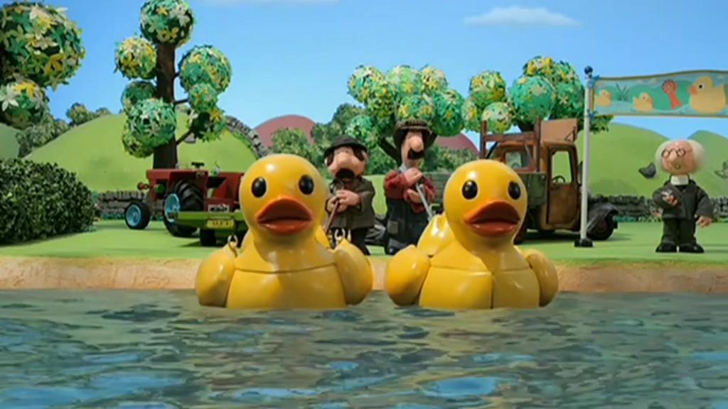 Pat el cartero en inglés - Postman Pat and the rubber duck race ... 04c5a1edf93
