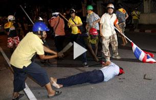 Ver vídeo 'Un muerto y treinta y cuatro heridos en Tailandia'