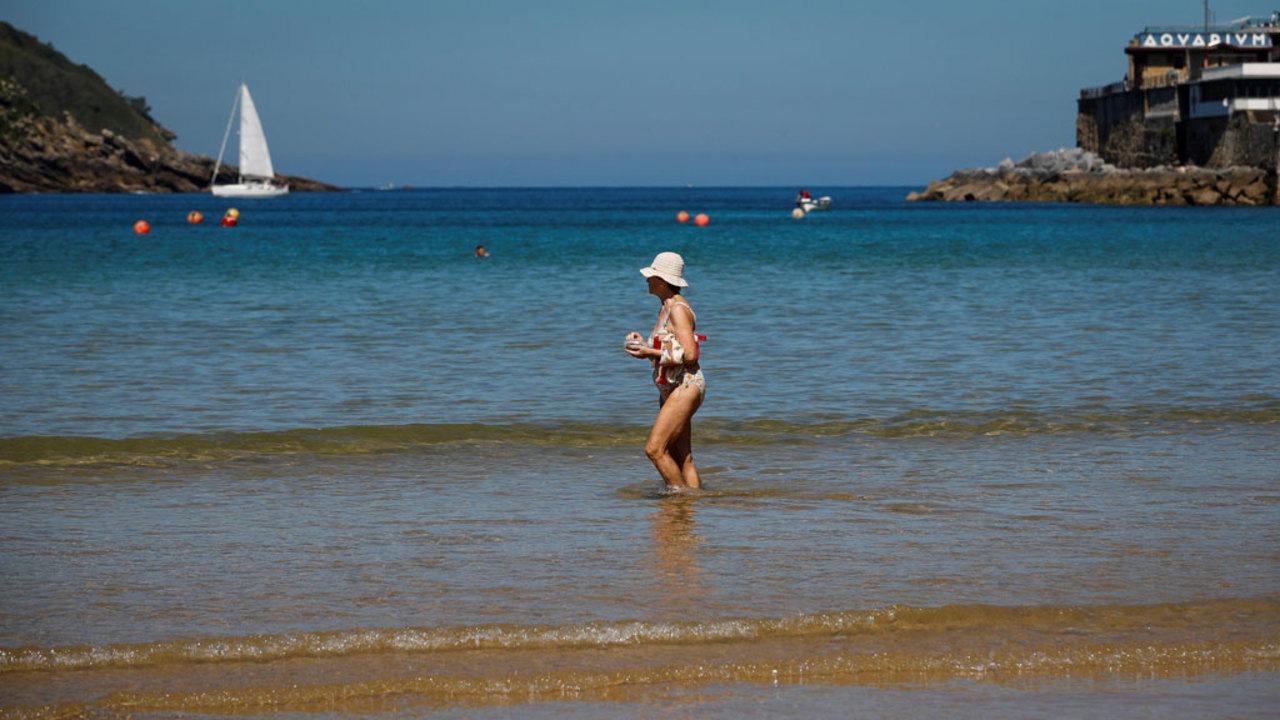 EL DRAGON BLANCO Toalla de Playa Helen Mod.2 Algod/ón