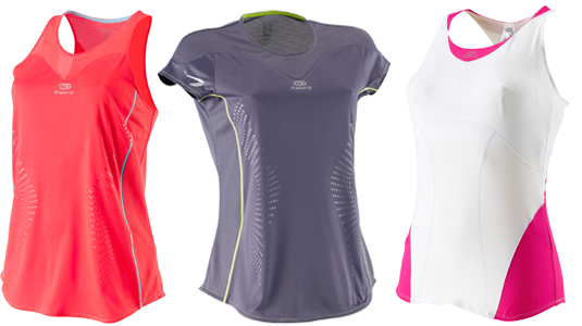 Camisetas running de Decathlon