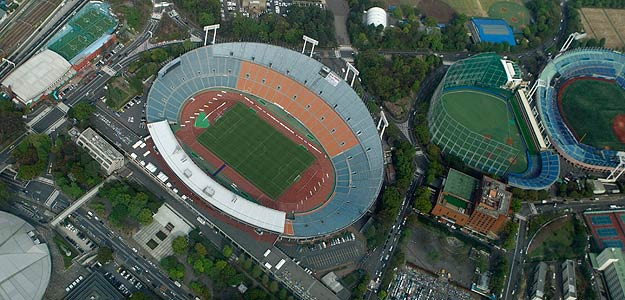 Estadios de Futbol en Japón