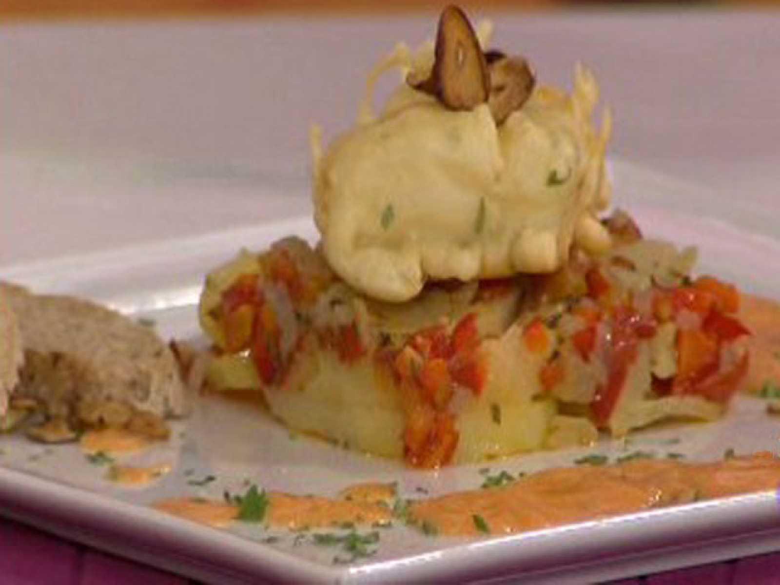 Bacalao con leche rebozado a la panadera 16 02 11 - Cocinar bacalao congelado ...
