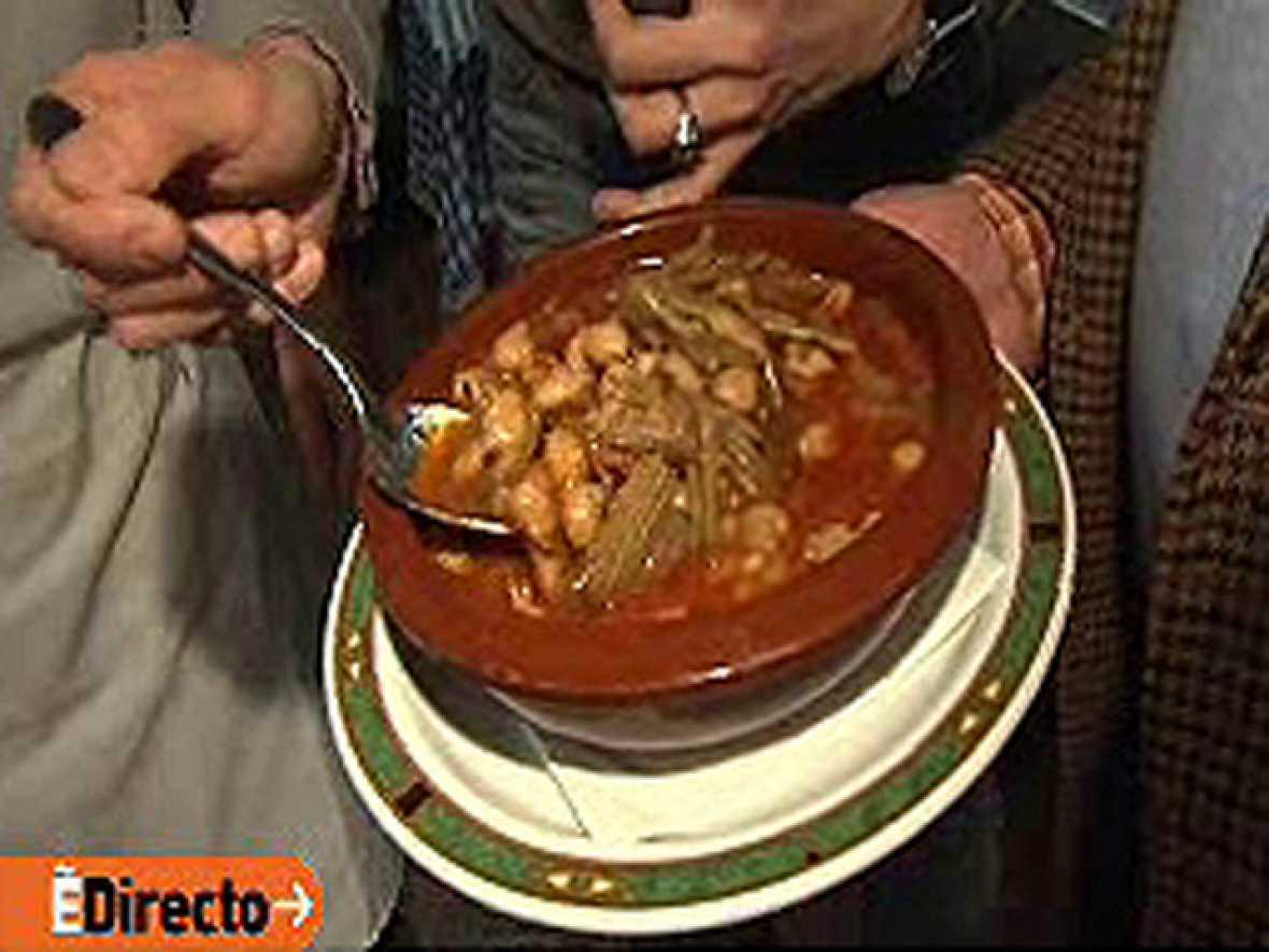 Recetas De Cocina De España Directo | Espana Directo Berza Jerezana Con Pringa Rtve Es