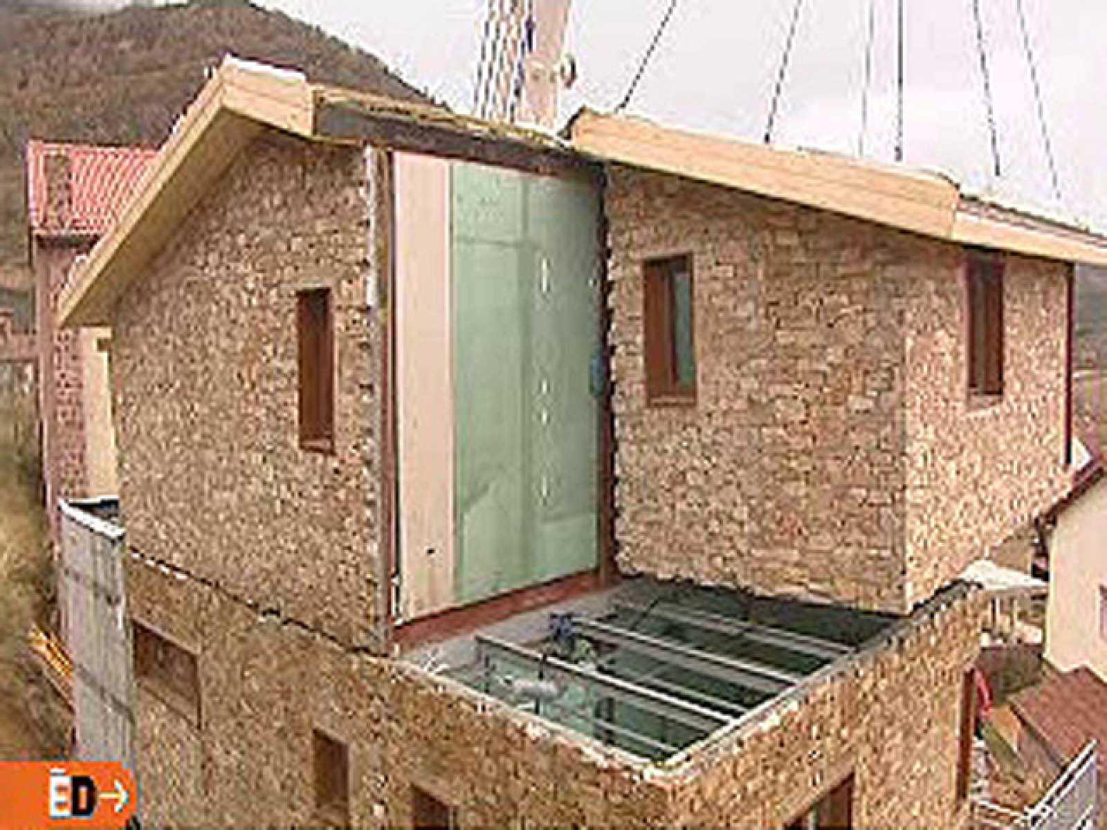 Espa a directo casa de piedra modular - Construccion casas de piedra ...