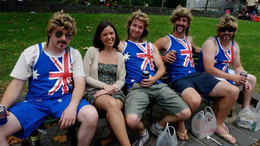 Españoles en el mundo - Melbourne - Tomas falsas
