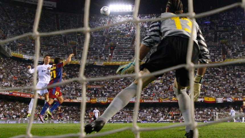 Y Cristiano rompió el empate (0-1)