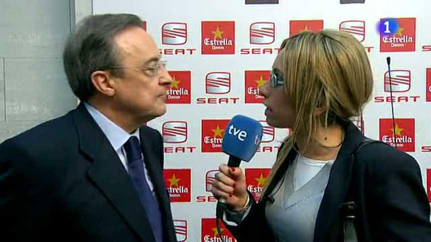 """Florentino: """"Necesitábamos un título"""""""
