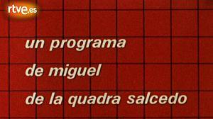 Sintonía del programa