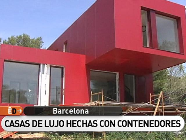 ver vdeo espaa directo lujo en un contenedor - Casas Contenedores Maritimos