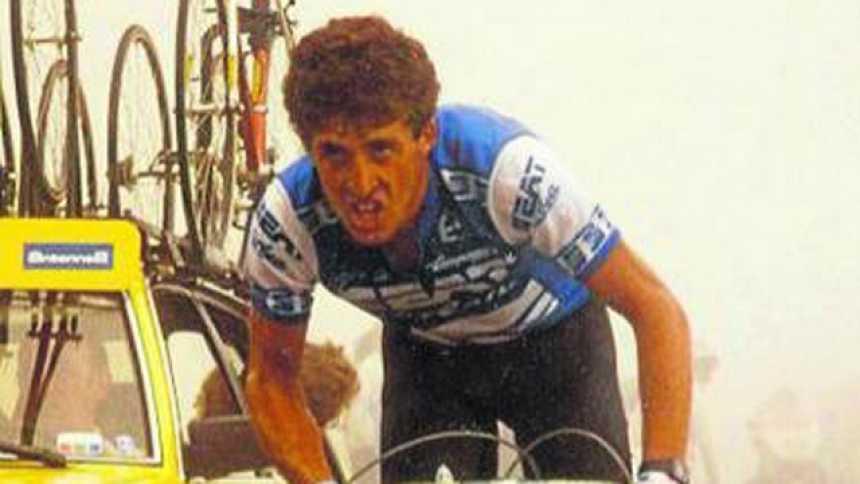 La primera victoria de Delgado en el Tour, en Luz Ardiden