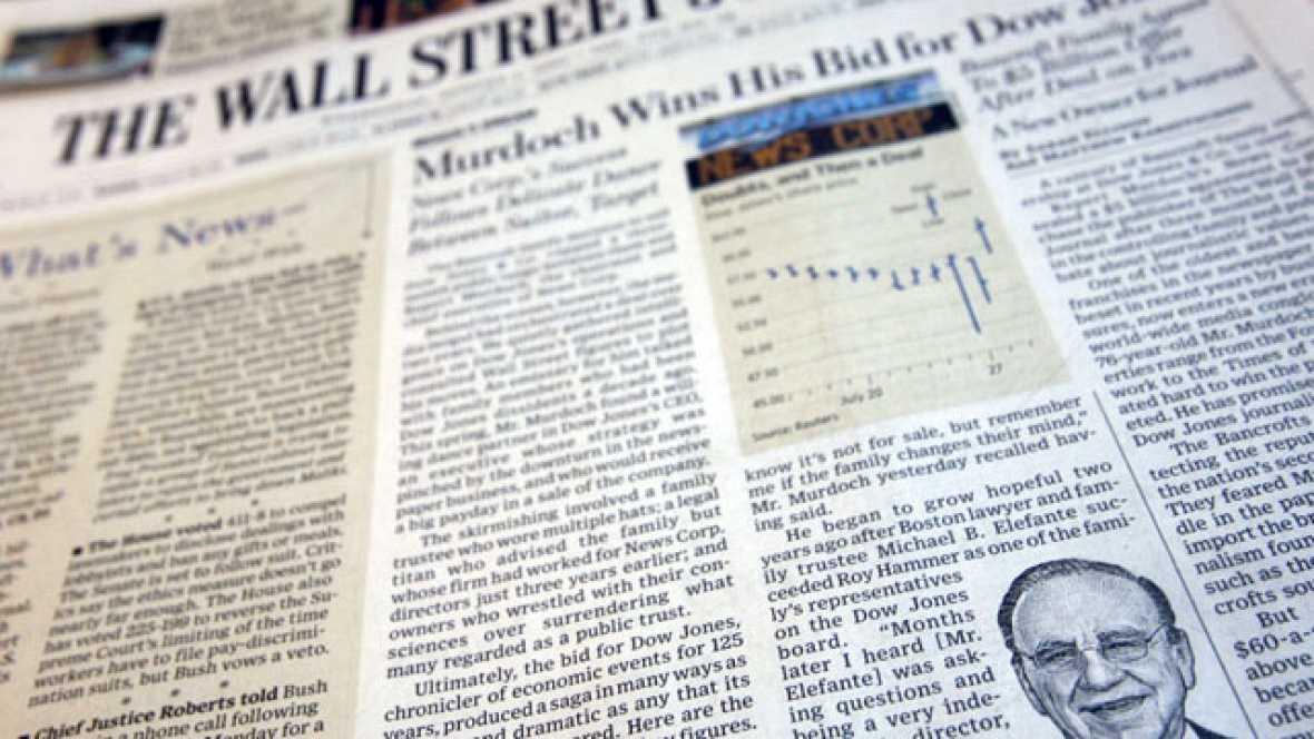 "Murdoch defiende su imperio pero admite ""errores menores"""
