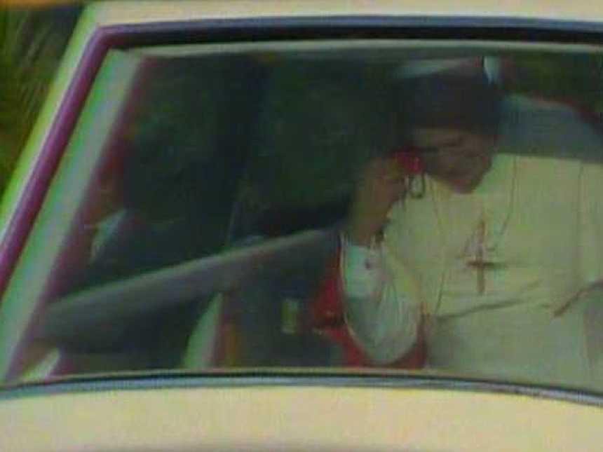 El papa en Zaragoza: la noche más larga