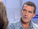 Antonio Banderas de visita en RTVE
