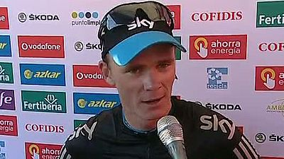 "Froome: ""La victoria es indescriptible"""