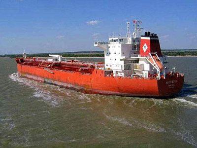 El carguero Mateos I navega ya libre