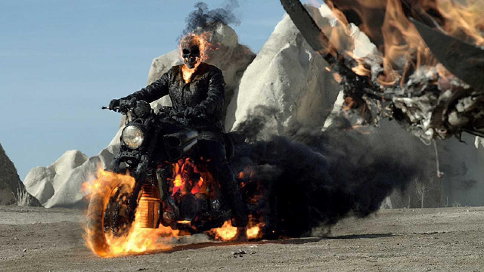 Tráiler De El Motorista Fantasma 2 Ghost Rider 2 Rtvees