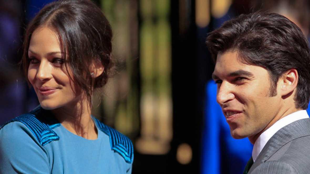 La mañana de La 1 - Fran y Cayetano Rivera a la entrada de la ceremonia