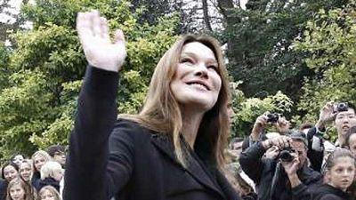 Más Gente - Carla Bruni está a punto de dar a luz
