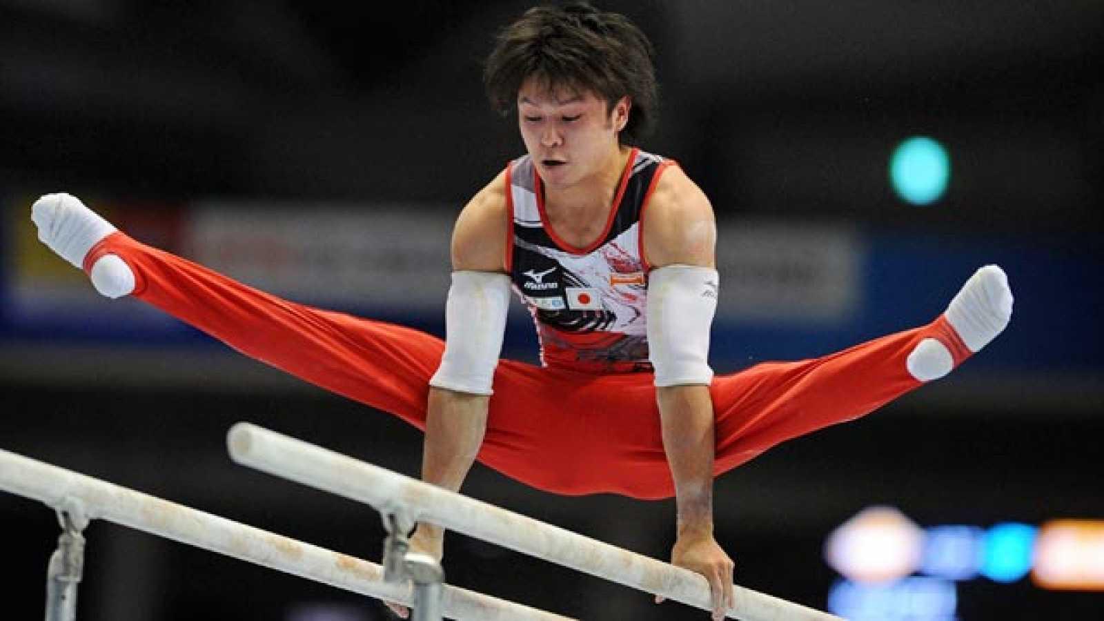 El japon s uchimura entra en la historia de la gimnasia for Gimnasia informacion
