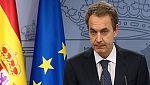 """Zapatero: """"La nuestra será una democracia sin terrorismo, pero no sin memoria"""""""