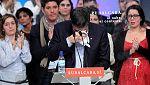 Patxi López rompe a llorar en un emotivo discurso en San Sebastián
