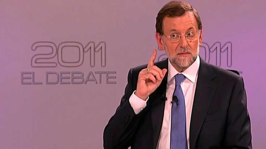 """Rajoy llama en un lapsus a Rubalcaba """"señor Rodríguez Zapatero"""""""