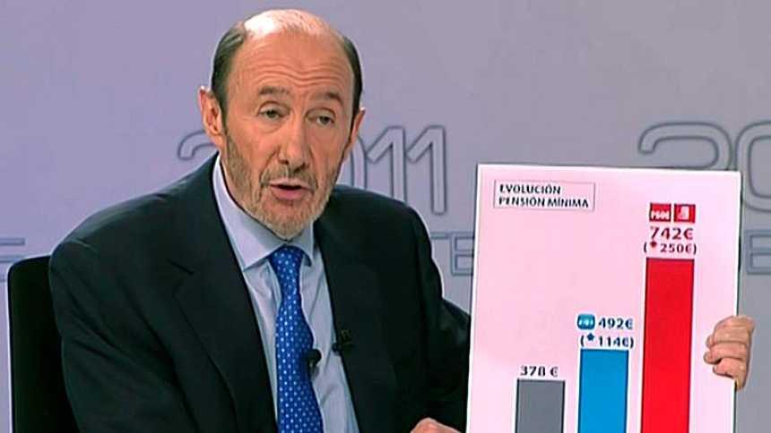 Rubalcaba insiste en pedir explicaciones sobre el programa 'ambiguo' del PP
