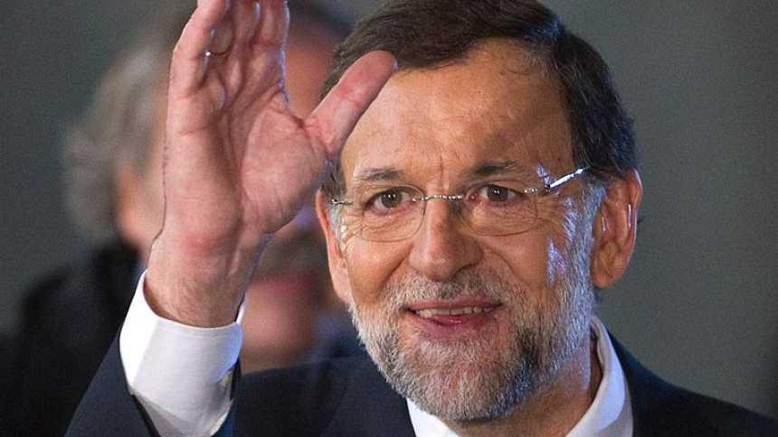 """Rajoy lndoslega a Génova entre gritos de """"presidente, presidente"""""""