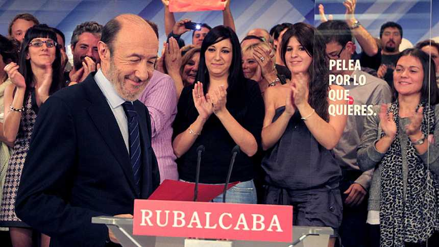 """Alfredo Pérez Rubalcaba: """"Hemos perdido claramente las elecciones"""""""