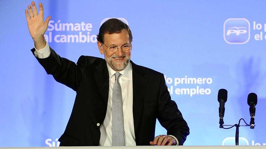 """Mariano Rajoy: """"Estoy decicido a ser el presidente para todos"""""""