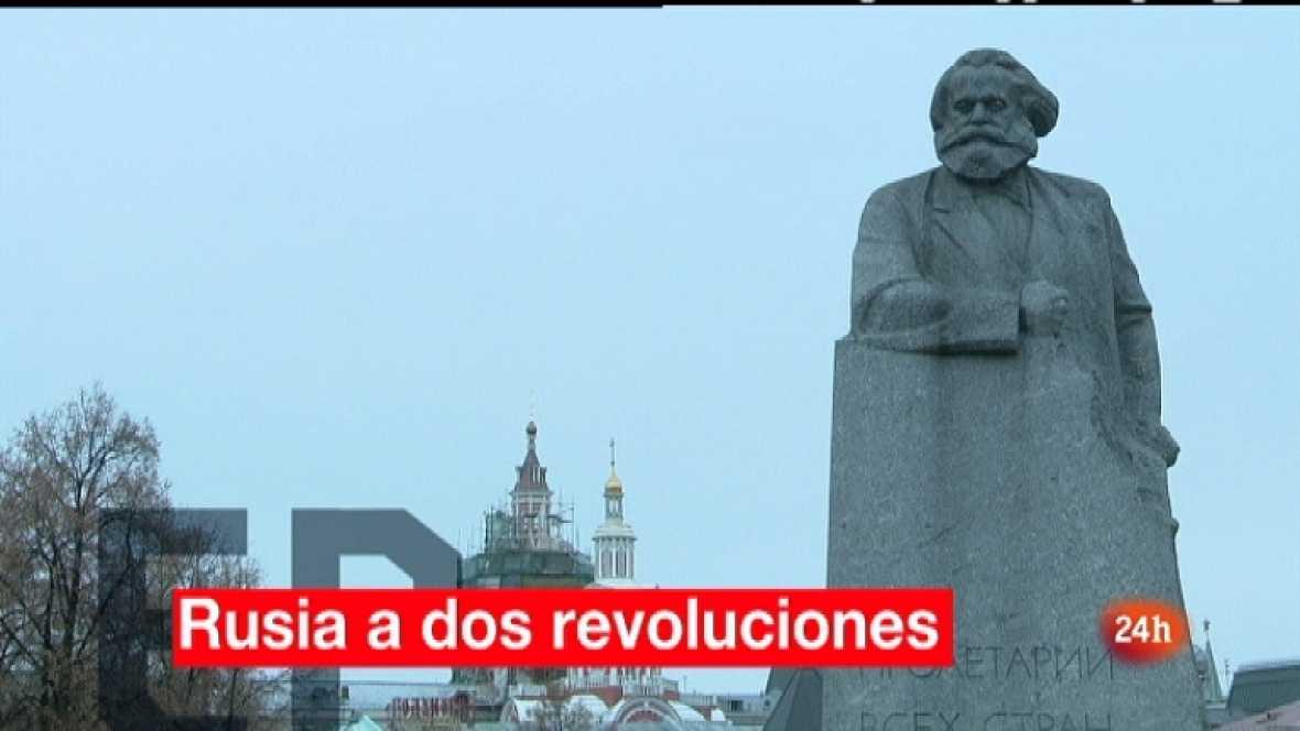 En portada - Rusia, a dos revoluciones - Ver ahora
