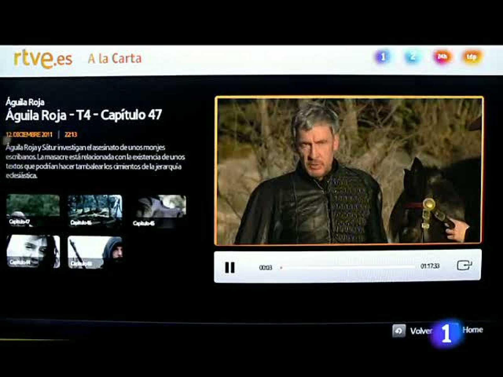 RTVE es da el salto al televisor con seis grandes aplicaciones para  consolas y TV conectadas