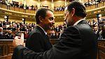 """Rajoy se despide de Zapatero: """"Acertó y se equivocó, como todos"""""""