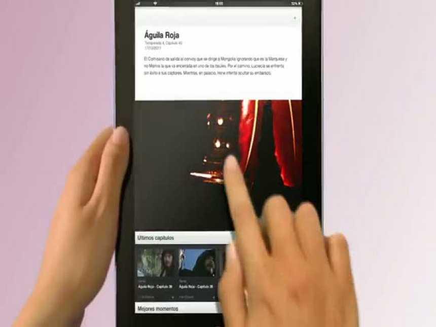 RTVE.es lanza su versión de aplicación para iPad