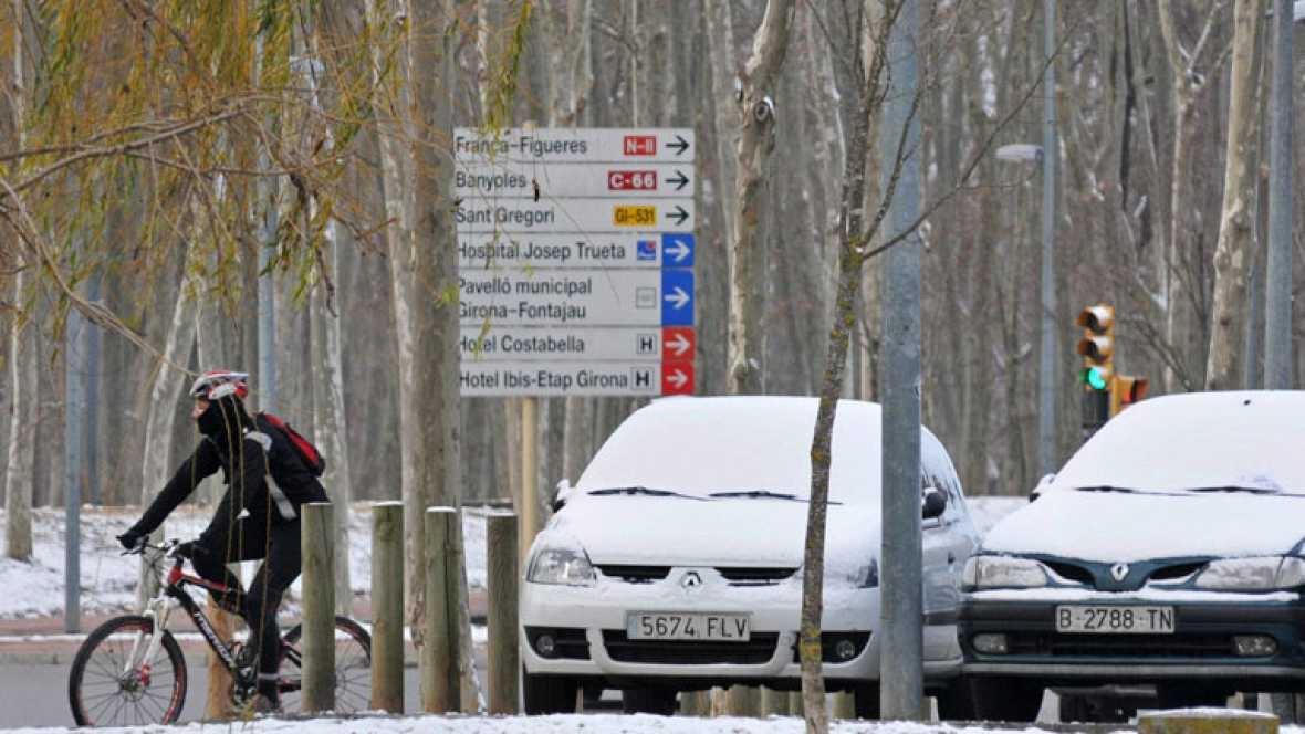 Máxima alerta en Cataluña por la ola siberiana