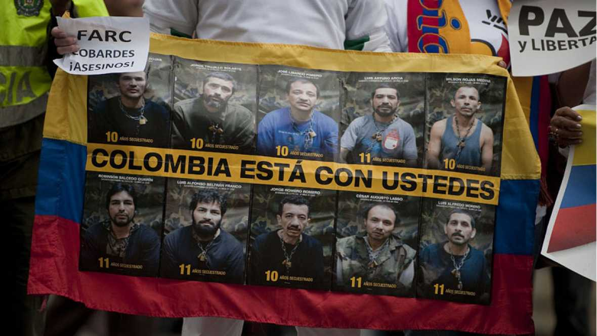 Las FARC anuncian que proscriben la práctica del secuestro y que liberarán a diez rehenes