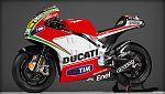 Así es la Desmosedici GP12 que pilotará Rossi