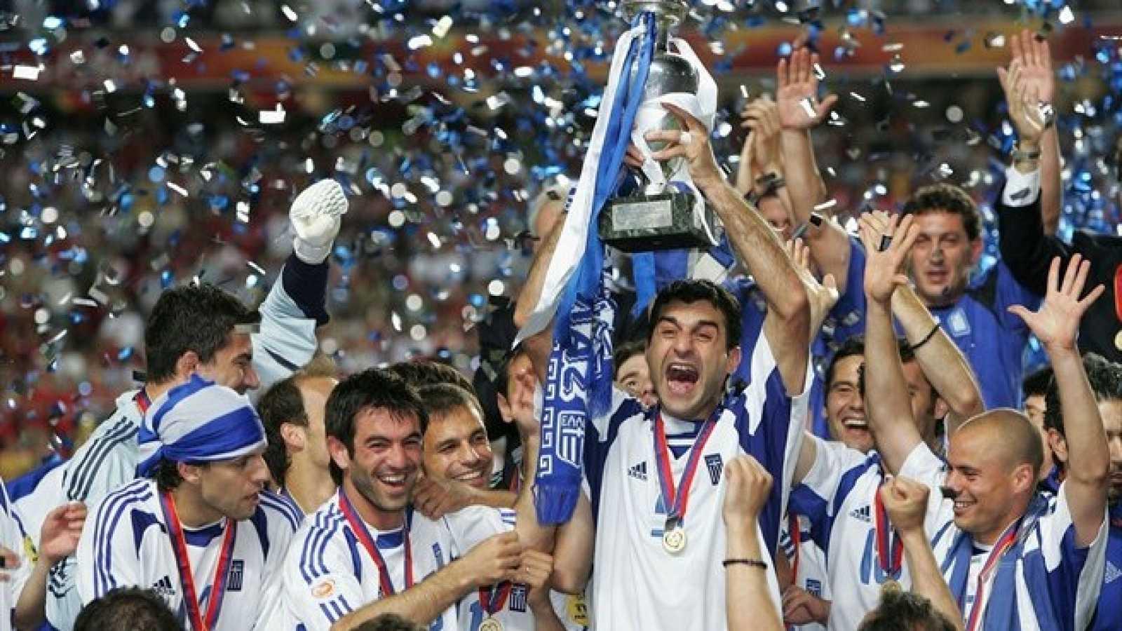 Resultado de imagen de grecia vs españa 2004