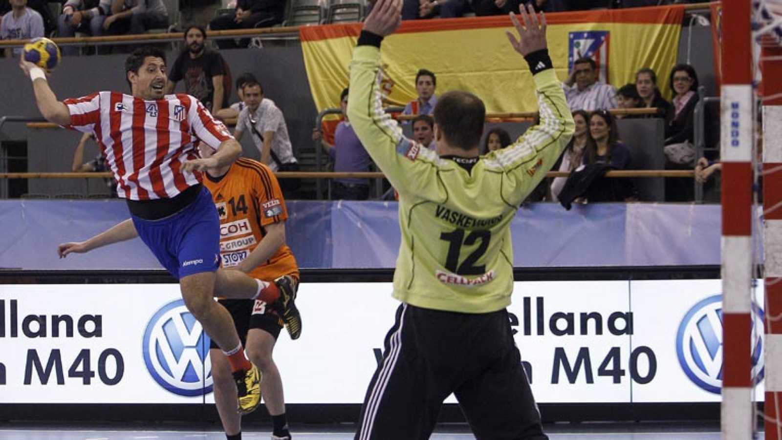 El BM Atlético de Madrid, en cuartos de la Champions